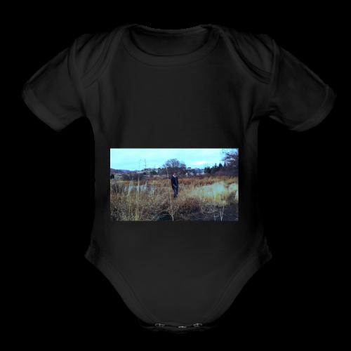 Alyx Heater - Organic Short Sleeve Baby Bodysuit