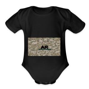 Alpha Ranger Apperal - Short Sleeve Baby Bodysuit