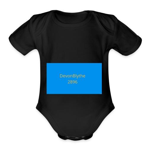 Devon t shirt - Organic Short Sleeve Baby Bodysuit