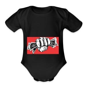 Legendary Cashe Apparel - Short Sleeve Baby Bodysuit