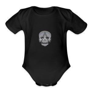 Apoxia Skull - Short Sleeve Baby Bodysuit