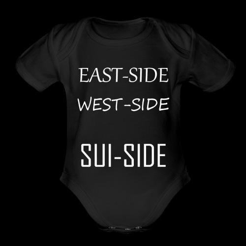 Suicide - Organic Short Sleeve Baby Bodysuit