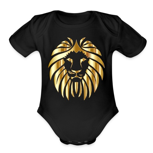 Royal Apex Lion (Limited Edition) - Organic Short Sleeve Baby Bodysuit