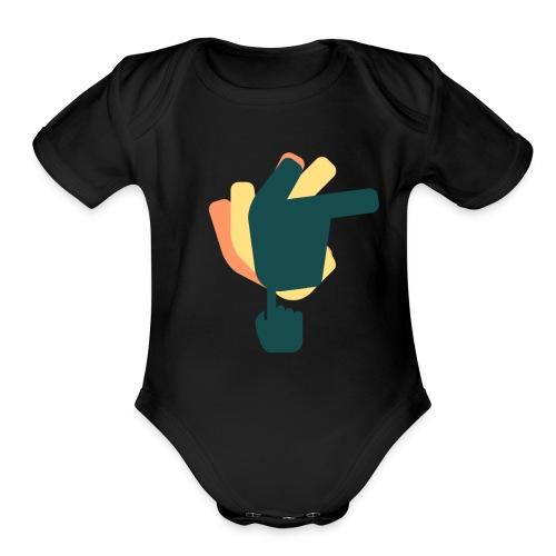 simple - Organic Short Sleeve Baby Bodysuit