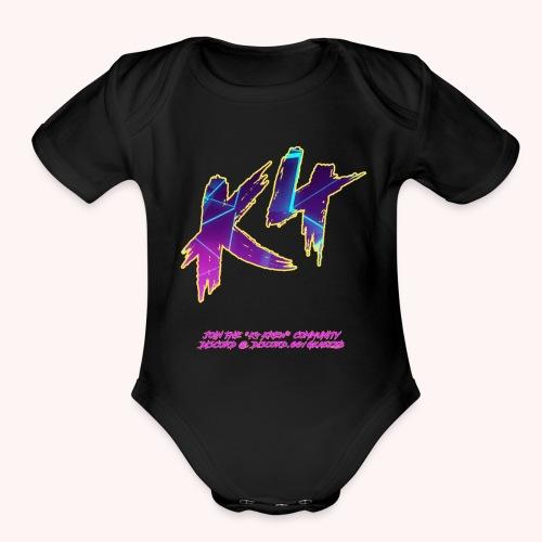 K4 GALACTIC - Organic Short Sleeve Baby Bodysuit