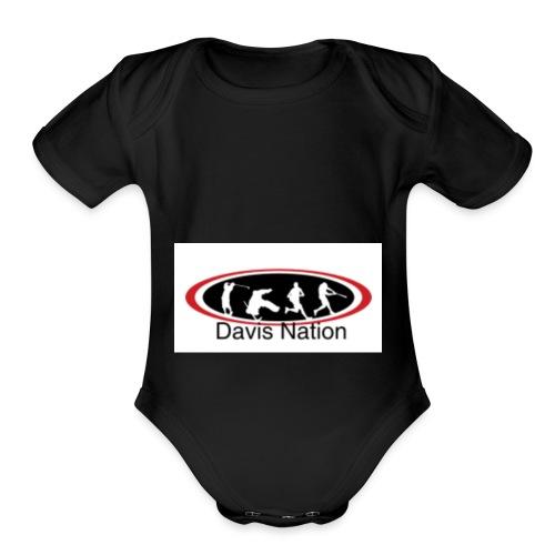 Davis Nation - Organic Short Sleeve Baby Bodysuit