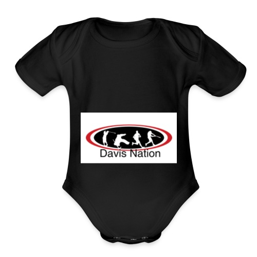 Davis Nation - Organic Short Sleeve Baby Bodysuit
