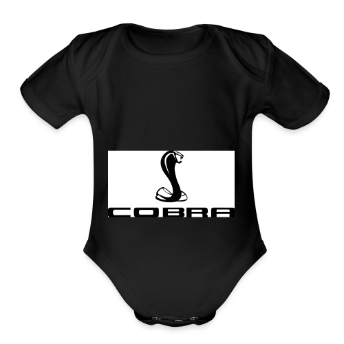 cobra99 - Organic Short Sleeve Baby Bodysuit