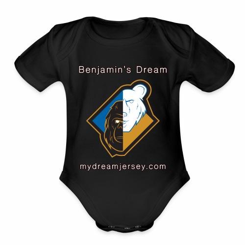 Benjamin's Dream Merchandise - Organic Short Sleeve Baby Bodysuit