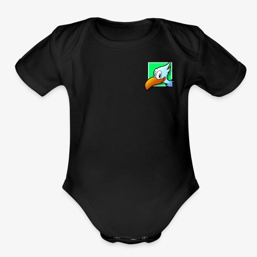 Trendation - Organic Short Sleeve Baby Bodysuit