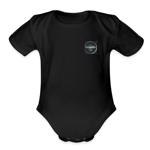 Originales Co. Blurred - Organic Short Sleeve Baby Bodysuit