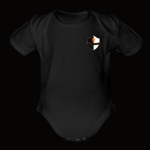Beyond Earth Gaming Logo - Organic Short Sleeve Baby Bodysuit