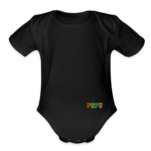 P2PU RGB-01 Solid - Organic Short Sleeve Baby Bodysuit
