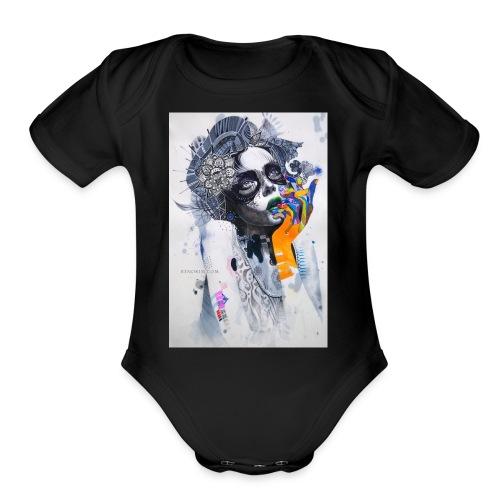Minjae Lee - Organic Short Sleeve Baby Bodysuit