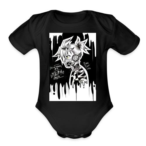 Erick - Organic Short Sleeve Baby Bodysuit