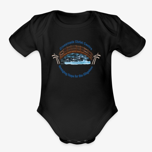 Crossroads Christ Centre - Organic Short Sleeve Baby Bodysuit