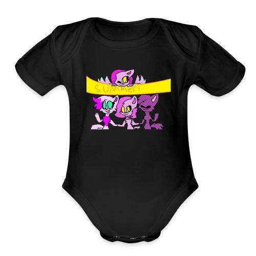 MARCH - Organic Short Sleeve Baby Bodysuit