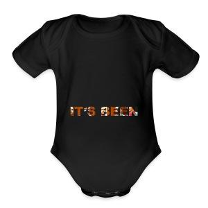 It's Been - Short Sleeve Baby Bodysuit