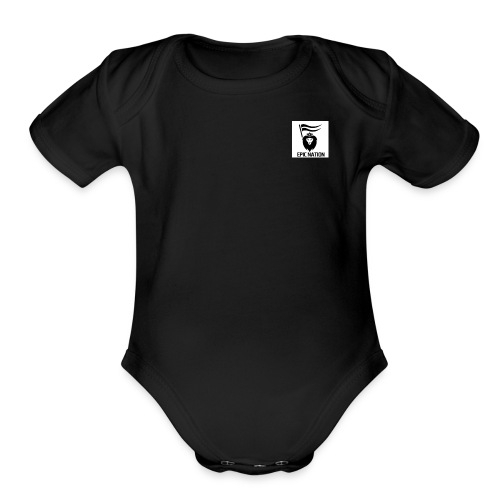 Epic Nation - Organic Short Sleeve Baby Bodysuit