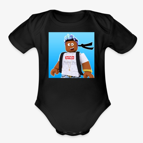 Roblox Avatar Graphic - Organic Short Sleeve Baby Bodysuit