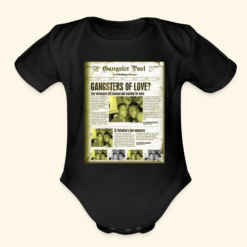 Love is the Greatest - Organic Short Sleeve Baby Bodysuit