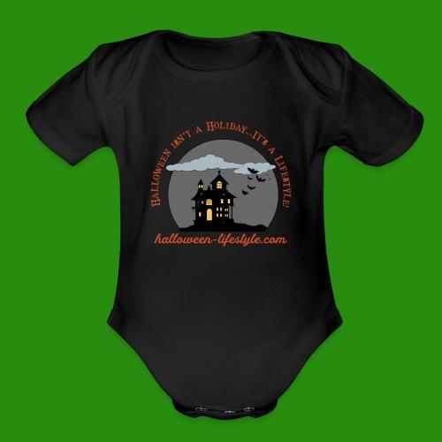 HL shirtlogo - Organic Short Sleeve Baby Bodysuit