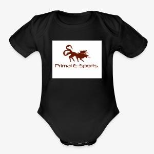 Primal Esports V1 - Short Sleeve Baby Bodysuit