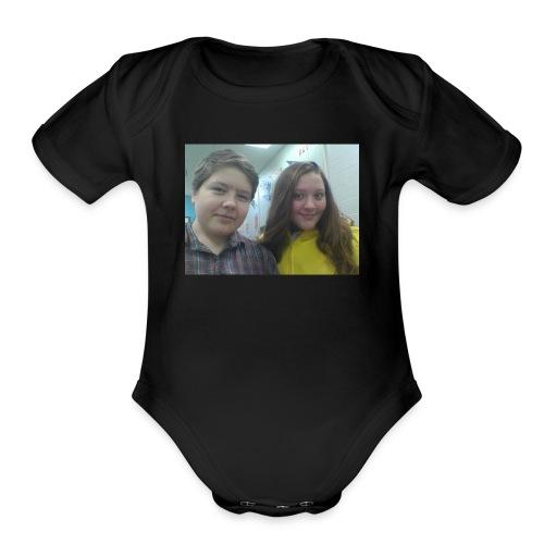CASYY AND DYLAN - Organic Short Sleeve Baby Bodysuit