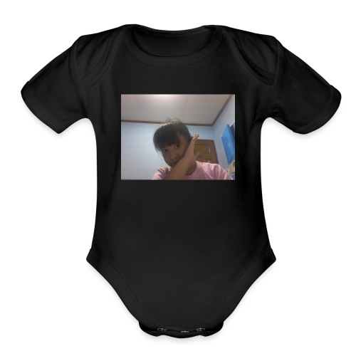 1516185393873356207086 - Organic Short Sleeve Baby Bodysuit