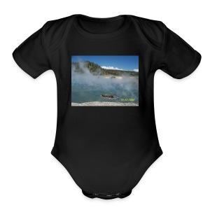 Mist - Short Sleeve Baby Bodysuit