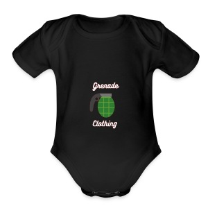 Grenade Clothing - Short Sleeve Baby Bodysuit