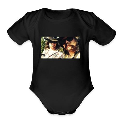 Jaw Thrust Cover Art - Organic Short Sleeve Baby Bodysuit