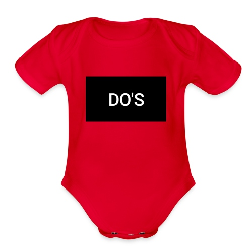 Snapshot 568 - Organic Short Sleeve Baby Bodysuit