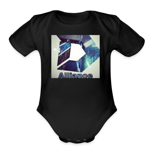 Destiny Alliance Merch - Organic Short Sleeve Baby Bodysuit