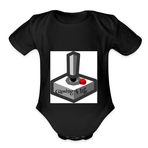 6D51B7AD 3C8B 447F B8AA 12AB9877DF11 - Organic Short Sleeve Baby Bodysuit