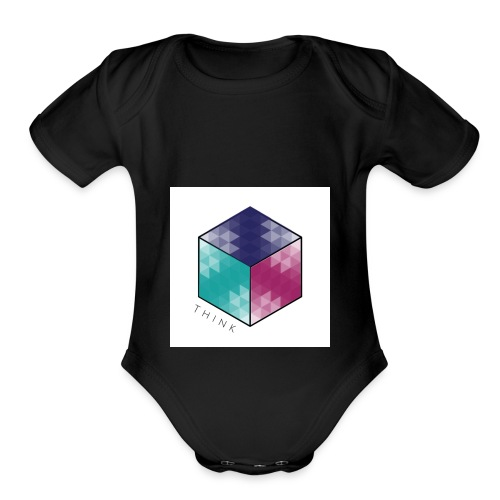 Think outside of the box tee 2.0 - Organic Short Sleeve Baby Bodysuit