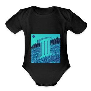 Currensy PilotTalk3 Artwork - Short Sleeve Baby Bodysuit