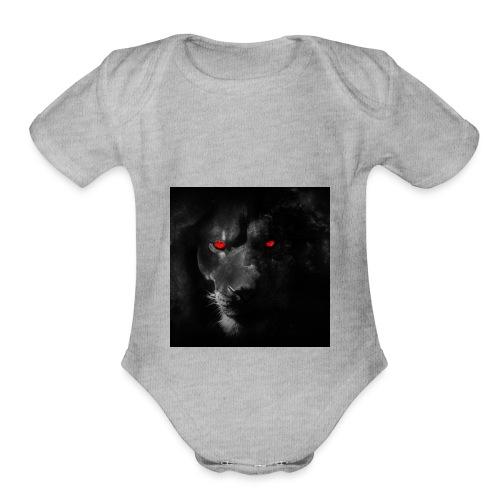 Black ye - Organic Short Sleeve Baby Bodysuit