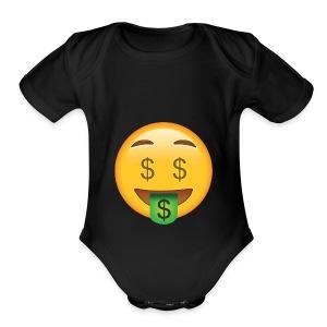 god merch - Short Sleeve Baby Bodysuit