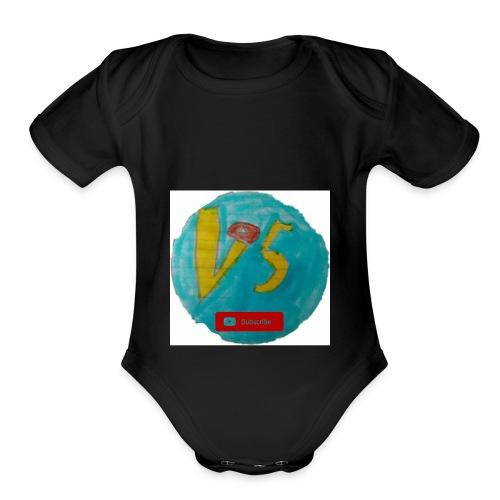 My first murch aka secret - Organic Short Sleeve Baby Bodysuit