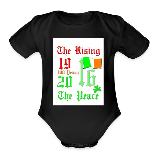 1916 Easter Rising - Organic Short Sleeve Baby Bodysuit