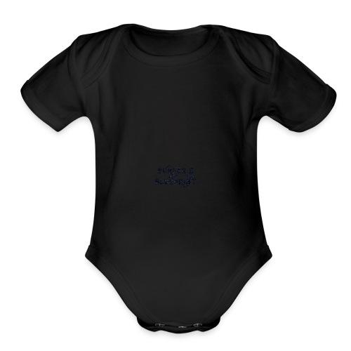 Surfer's Blueprint Ride Waves T-Shirt - Organic Short Sleeve Baby Bodysuit