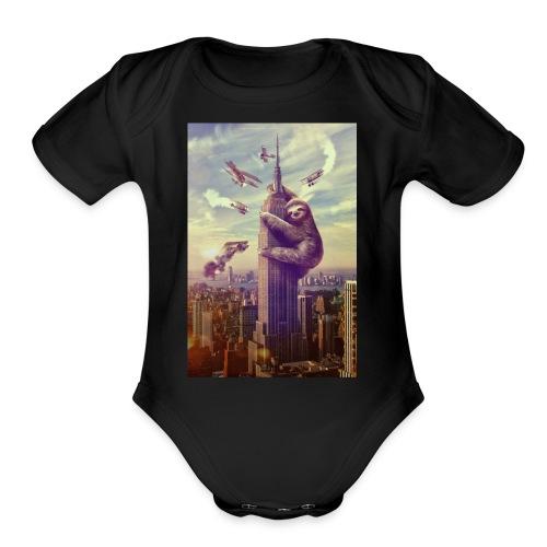 Team NukeArmy - Organic Short Sleeve Baby Bodysuit