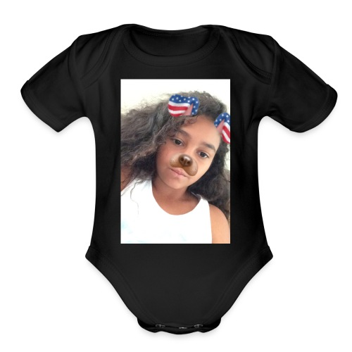 IMG 0462 - Organic Short Sleeve Baby Bodysuit