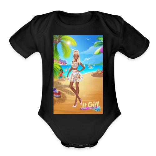 FashionCelebrity20171112003306 - Organic Short Sleeve Baby Bodysuit