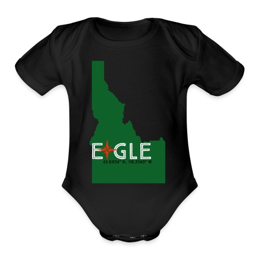 Eagle Idaho - Organic Short Sleeve Baby Bodysuit