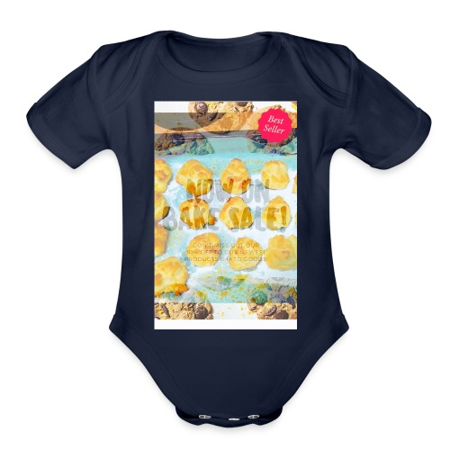 Best seller bake sale! - Organic Short Sleeve Baby Bodysuit