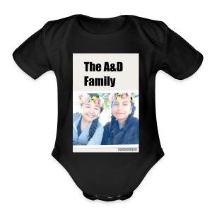 The A&D Family - Short Sleeve Baby Bodysuit