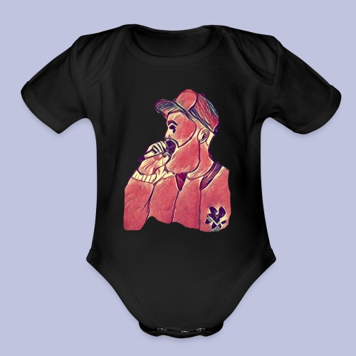 The Break Up (icon) - Organic Short Sleeve Baby Bodysuit