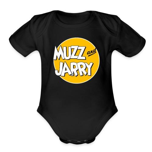 Muzz and Jarry - Organic Short Sleeve Baby Bodysuit